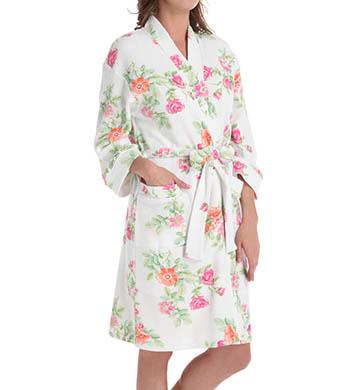 Carole Hochman Botanical Ditsy Short Robe