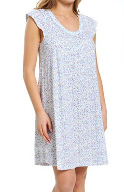 Carole Hochman Floral Impressions Short Gown