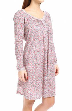 Carole Hochman Rosebud Cherubs Short Gown