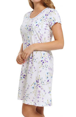 Carole Hochman Dancing Rosebud Stripe Sleepshirt