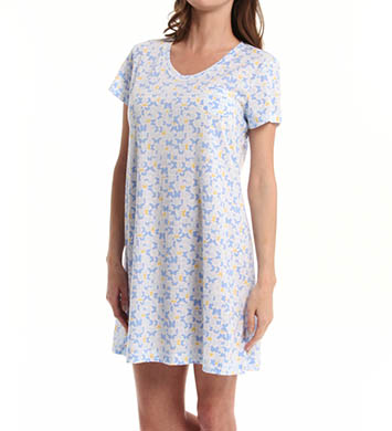 Carole Hochman Fresh Rose Tiles Sleepshirt