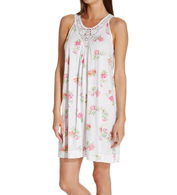 Carole Hochman Botanical Ditsy Short Gown