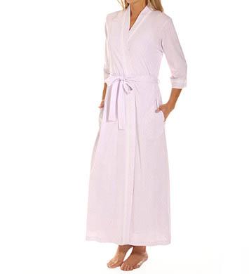Carole Hochman Eyelet Long Robe