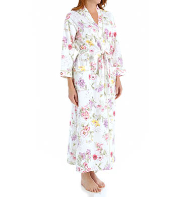 Carole Hochman Morning Glory Long Robe
