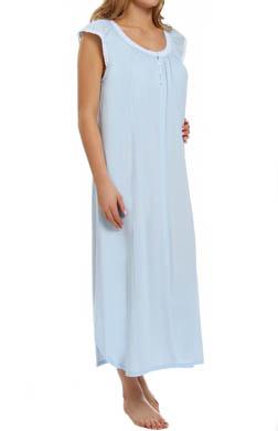 Carole Hochman Painterly Petals Long Gown
