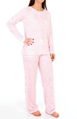 Carole Hochman Damask Scrolls Pajama