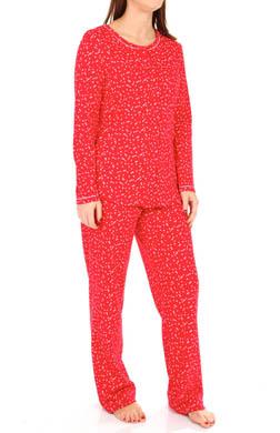 Carole Hochman Ditsy Bouquets Pajamas