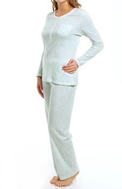 Carole Hochman Clustered Daisies Pajama