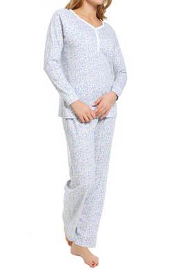 Carole Hochman Hushed Violets Pajama Set