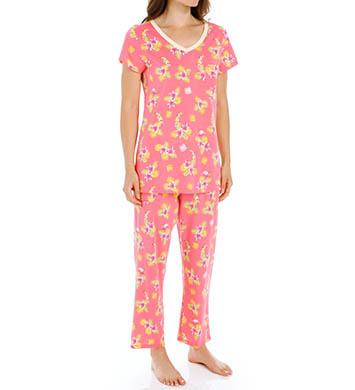 Carole Hochman Fresh Capri Pajama Set