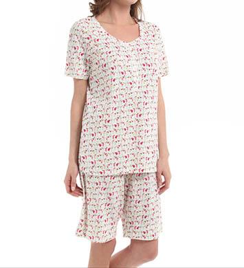 Carole Hochman Medley Bermuda Pajama Set