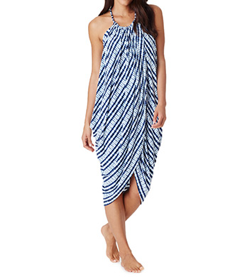 Carole Hochman Midnight Abstract Long Gown