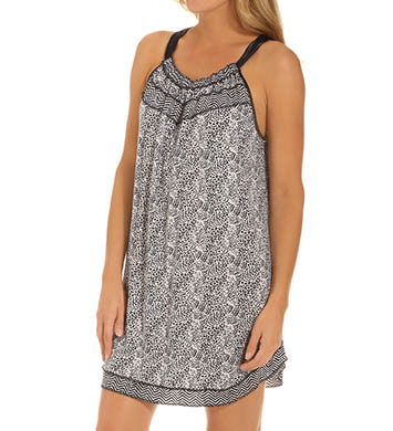 Carole Hochman Midnight Tribal Chemise