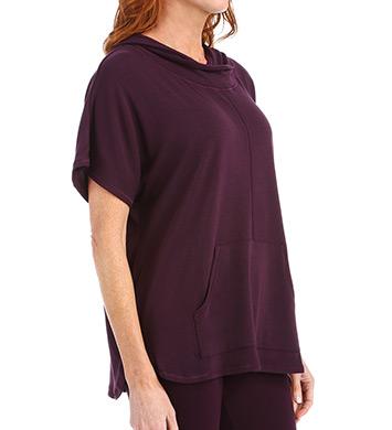Carole Hochman Midnight Lounge Capsule Sweater Knit Poncho
