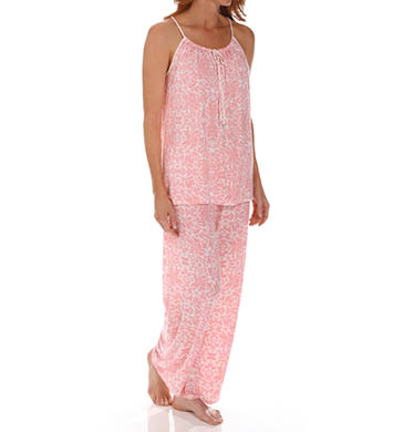 Carole Hochman Midnight Tropical Paradise PJ Set