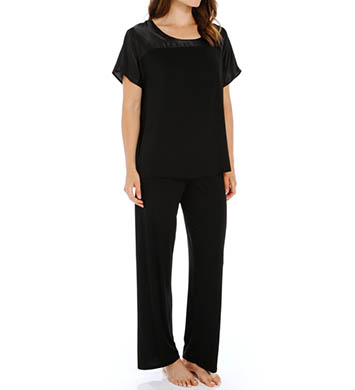 Carole Hochman Midnight Dove Opulence Pajama Set