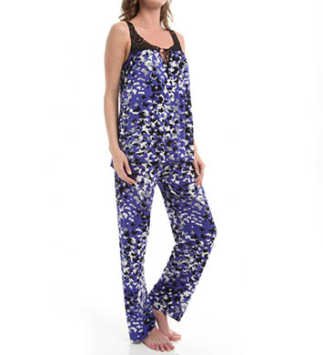 Carole Hochman Midnight Purple Opulence Pajama Set