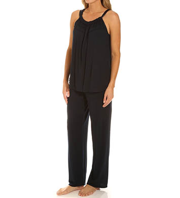 Carole Hochman Midnight Tribal PJ Set