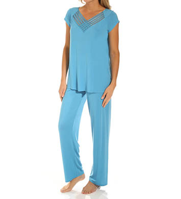 Carole Hochman Midnight North Sky PJ Set