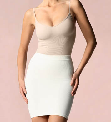 Cass Luxury Shapewear 2 in 1 Bustier or 16 1/2 Inch Half Slip Shaper
