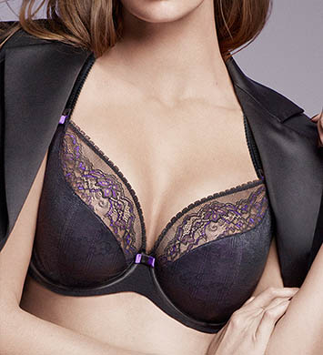 Chantelle Superbe 3 Part Plunge Underwire Bra