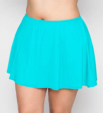 Coco Reef Solids Skirted Swim Bottom Plus Size