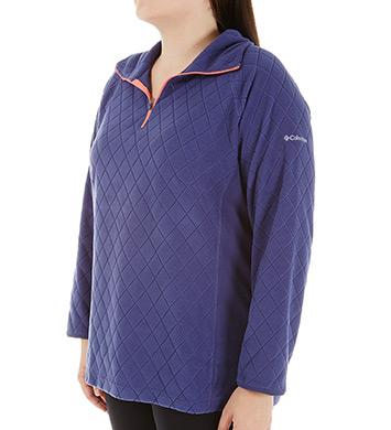 Columbia Glacial Fleece III Plus Size Half Zip Pullover