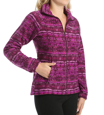 Columbia Benton Springs Print Full Zip Jacket