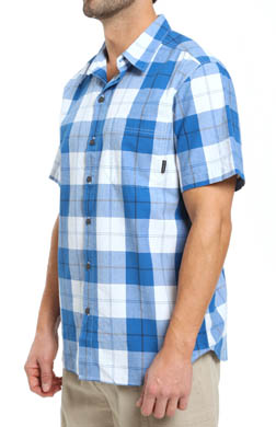 Columbia Thompson Hill Short Sleeve Wide Check Shirt