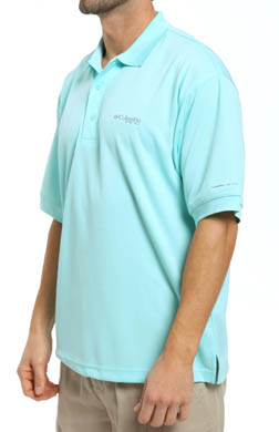 Columbia Perfect Cast PFG Omni-Shade Omni-Wick Polo