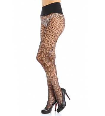 Commando Geo Net Pattern Tights