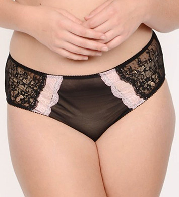 Creme Bralee Bettina Lace Boyshort Panty