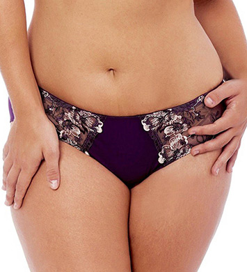 Creme Bralee Colette Embroidered Micro Panty