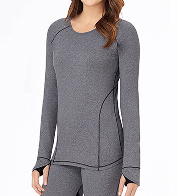 Cuddl Duds Sport Layer Long Sleeve Crew