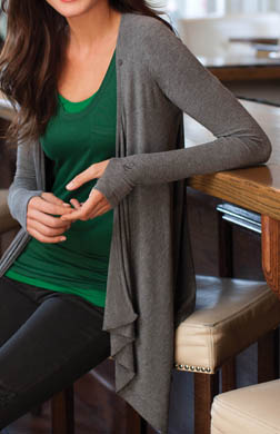 Cuddl Duds Second Layer Wrap Up 3 Way Wear
