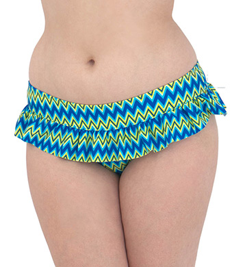 Curvy Kate Shockwave Skirted Swim Brief Swim Bottom
