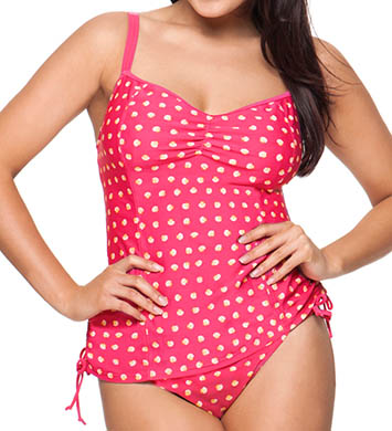 Curvy Kate Seashell Tankini Swim Top