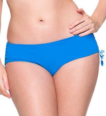 Curvy Kate Coral Reef Adjustable Brief Swim Bottom