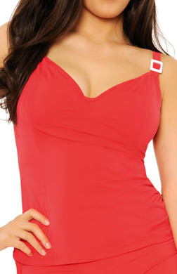 Curvy Kate Paradise Tankini Swim Top