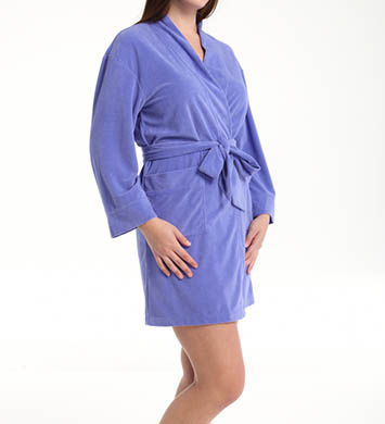 Dearfoams Solid Kimono Robe