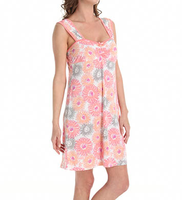 Dearfoams Rouched Tank Chemise