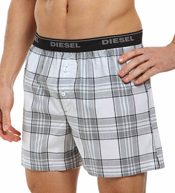 Diesel Plaid Luv Boxers