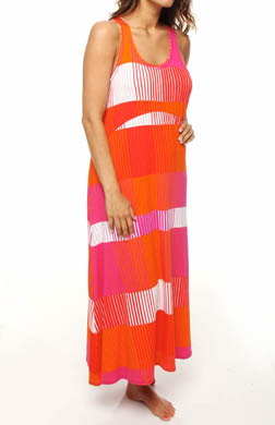 DKNY Sporting Colors Jersey Maxi