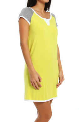 DKNY The Bright & The Beautiful Cap Sleeve Sleepshirt