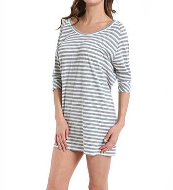 DKNY Layering Mixers Crop Sleeve Sleepshirt