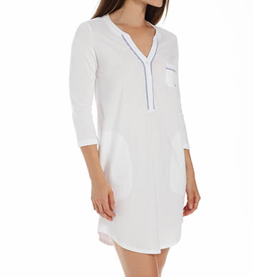 DKNY Ashore 3/4 Sleeve Nightshirt