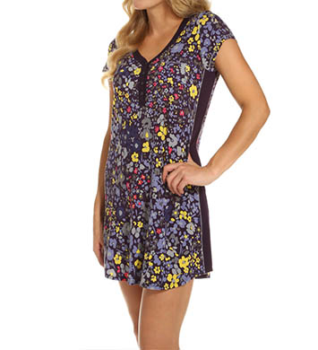 DKNY Bloom Cap Sleeve Sleepshirt