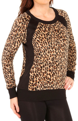 DKNY Urban Strokes Long Sleeve Top