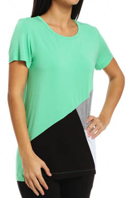 DKNY The Bright & The Beautiful Color Block Tee