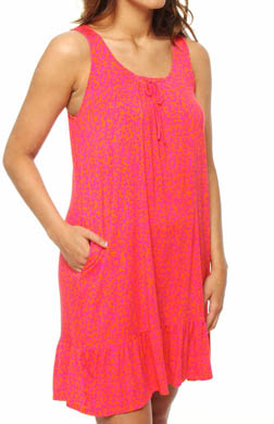 DKNY Secret Garden Built-Up Chemise
